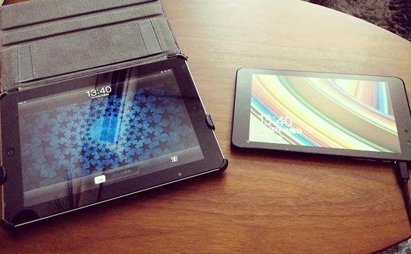 Venue8ProとiPad