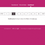 Keyboard Shortcuts for Pagination